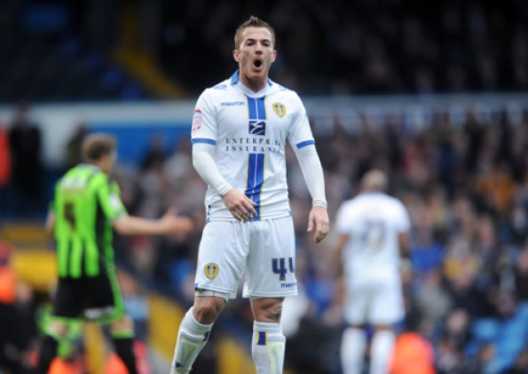 Ross McCormack of Leeds United